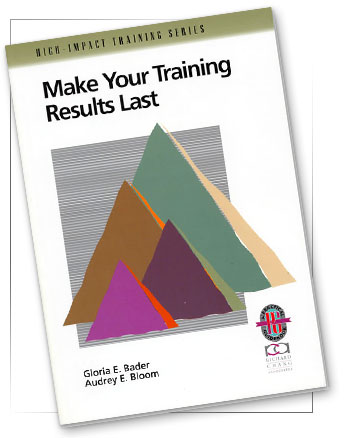 The Bader Group: Books: Make Your Training Results Last